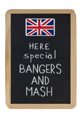 bangers and mash